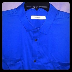 Blue Calvin Shirt